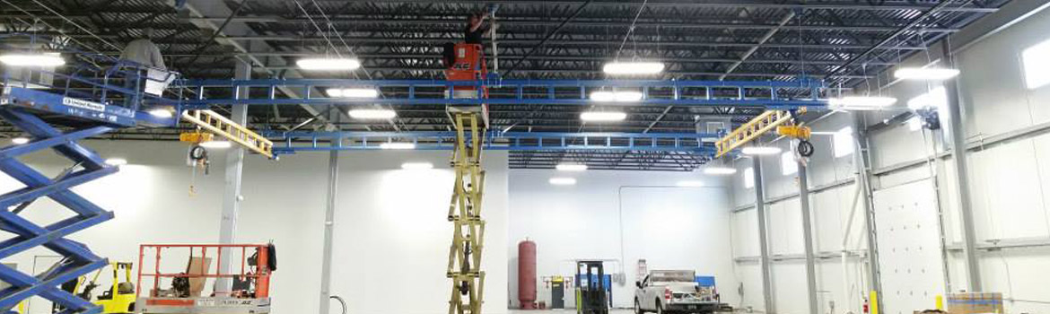 Installation of hoist system